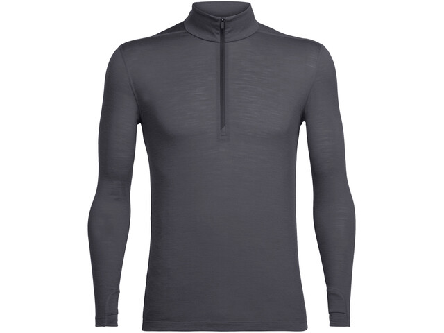 Icebreaker Zeal LS Half Zip Shirt Herr monsoon